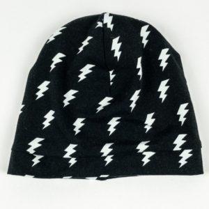 Beanie - Black Lightning