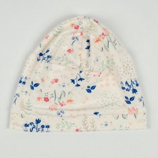 Beanie - Soft Pink Floral