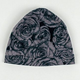 Beanie - Grey Rose