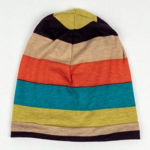Beanie - Multi Wide Stripe