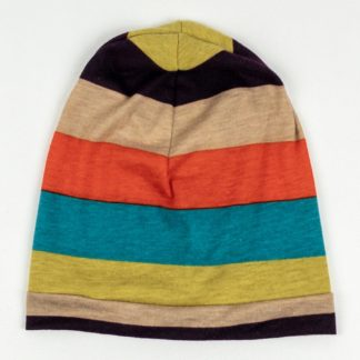 Beanie - Multi Wide Stripe