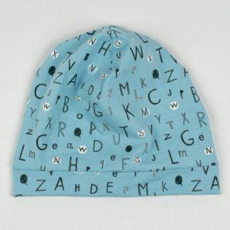 Beanie - Blue Alphabet