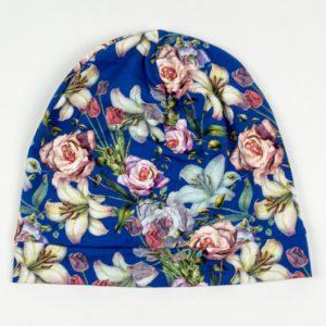 Beanie - Royal Floral