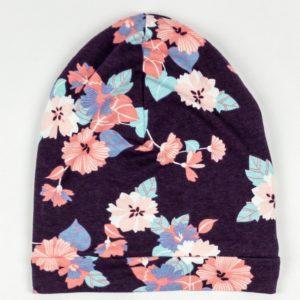 Beanie - Violet Floral