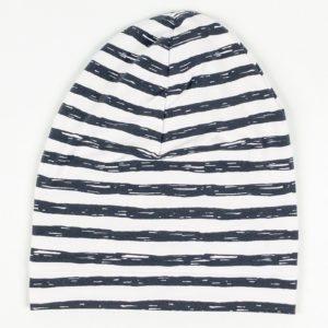 Beanie - Dark Grey Stripe