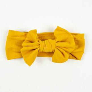 Bow Headband - Mustard