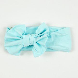 Bow Headband - Aqua