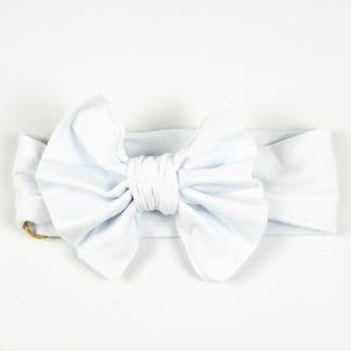 Bow Headband - White