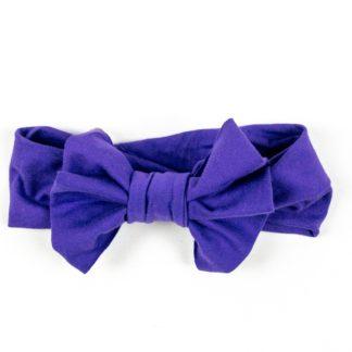 Bow Headband - Violet