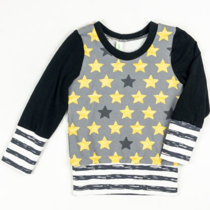 Crew - Star/Black/Dark Grey Stripe