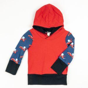 Hoodies - Red/Racecar/Black