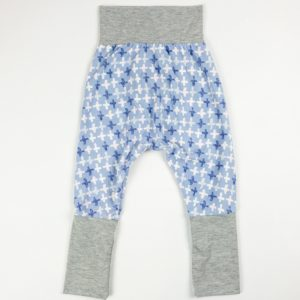 Harem Pants - Purple Plus/Grey