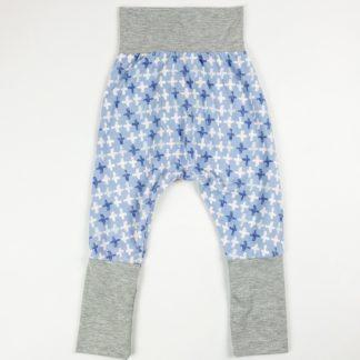 Harem Pants - Purple Plus/Grey