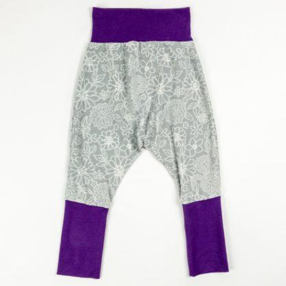 Harem - Grey Wire Floral/Violet