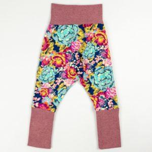 Harem Pants - Acquai Floral/Rose Melange