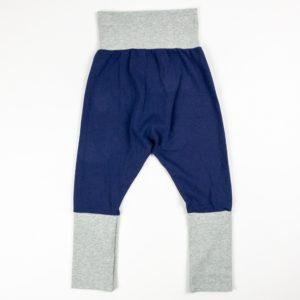 Harem Pants - Navy/Grey