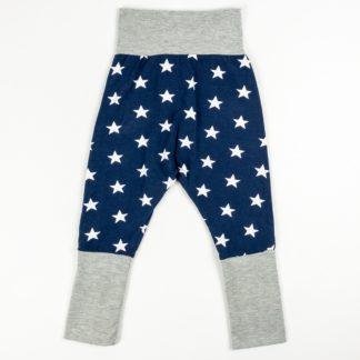 Harem Pants - Navy Stars/Grey