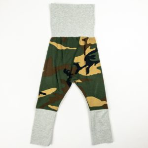 Harem Pants - Camo/Grey