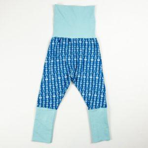 Harem Pants - Blue Vine/Aqua