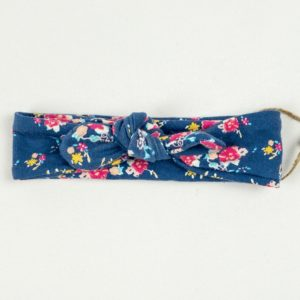 Topknot - Denim Floral