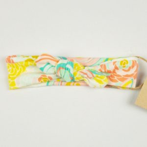 Topknot - Neon Chalk Floral