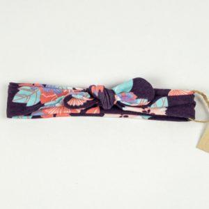 Topknot - Violet Floral