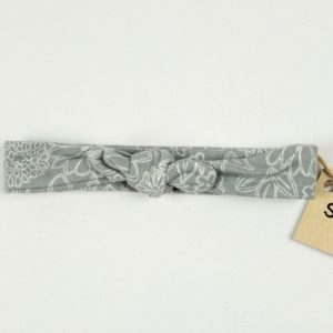 Topknot - Grey Wire Floral