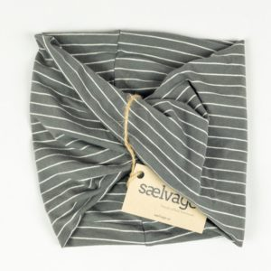WonderWrap - Grey Pinstripe