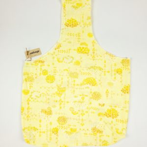 Upcycled Cloth Bag - Pale Yellow