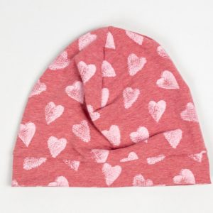 Beanie - Pink Heart