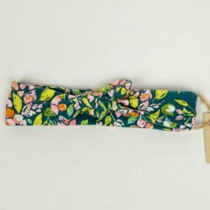 Topknot - Emerald Floral