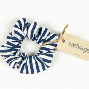 Scrunchie - Navy Stripe