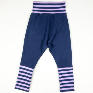 Harem - Navy/Purple Stripe