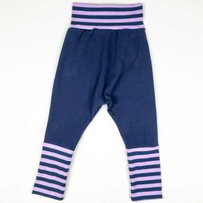 Harem - Navy/Purple Stripe