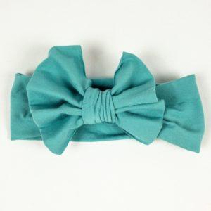 Bow Headband - Seafoam