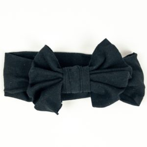 Bow Headband - Black