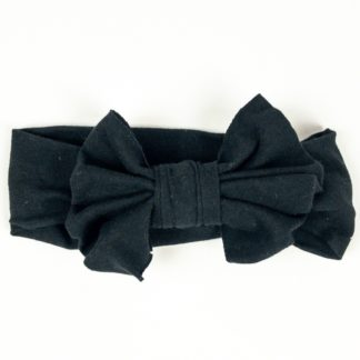 Bow Headband - Black