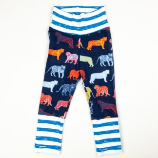 Leggings - Navy Tiger/Royal Stripe