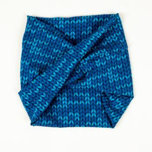 WonderWrap - Blue Knit