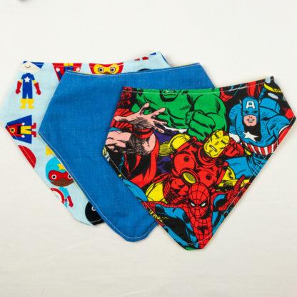 Bundle - Bib Bundle - Superhero/Blue/Superhero