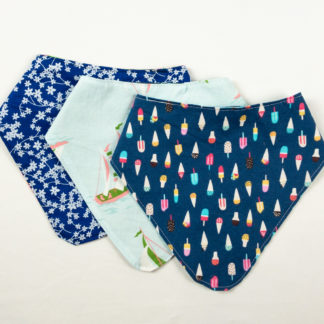 Bundle - Bib Bundle - Ice Cream/Sailboat/Floral