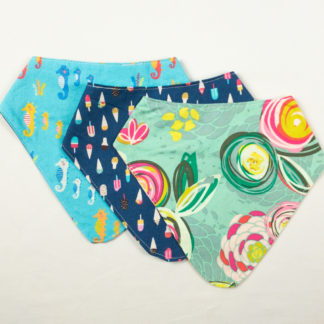 Bundle - Bib Bundle - Floral/Ice Cream/Seahorse