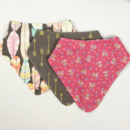 Bundle - Bib Bundle - Floral/Arrow/Feather
