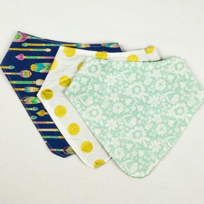 Bundle - Bib Bundle - Floral/Dot/Arrow