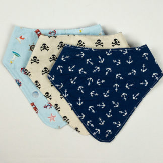 Bundle - Bib Bundle - Anchor/Crossbones/Nautical