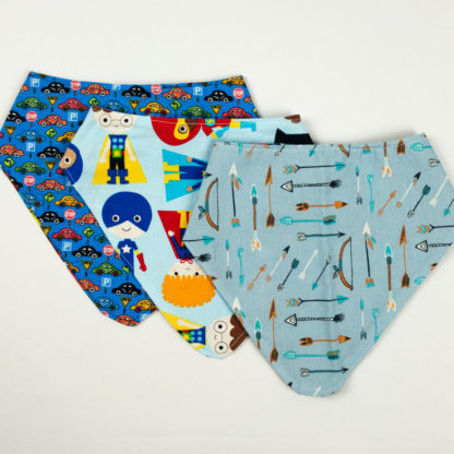 Bundle - Bib Bundle - Arrow/Superhero/Cars