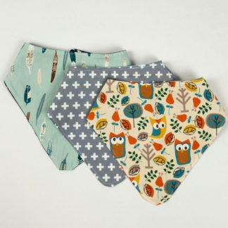 Bundle - Bib Bundle - Owl/Plus/Feather