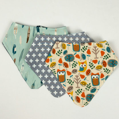Bundle - Bib Bundle - Owl/Plus/Feather