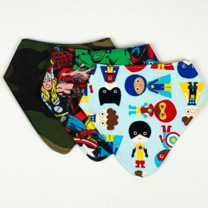 Bundle - Bib Bundle - Superhero/Superhero/Camo