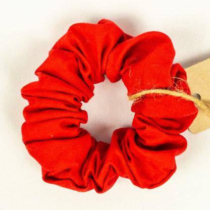 Scrunchie - Solid Red